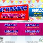 No te pierdas nuestras actividades familiares los sábados en el Rivas Centro