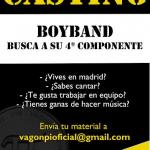 Casting para Boyband