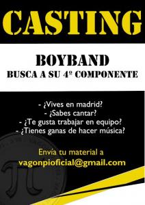 Casting Boyband