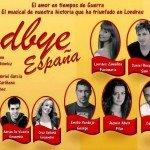 """Ven al workshop del musical """"Goodbye España"""""""