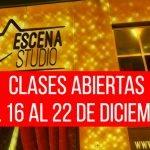 Estás invitado a nuestras clases abiertas de Artes Escénicas