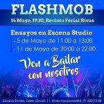 ¿Te quieres divertir? Participa con nosotros en el flashmob de Rivas