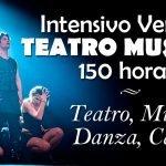 Intensivo de Verano de Teatro Musical en Julio, 150 horas de danza, canto y teatro