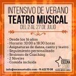 Apúntate al III Curso intensivo de Teatro Musical