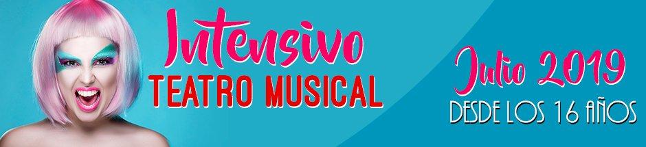 curso de verano de teatro musical