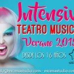 Intensivo de verano de Teatro Musical 2019, canto, teatro y danza