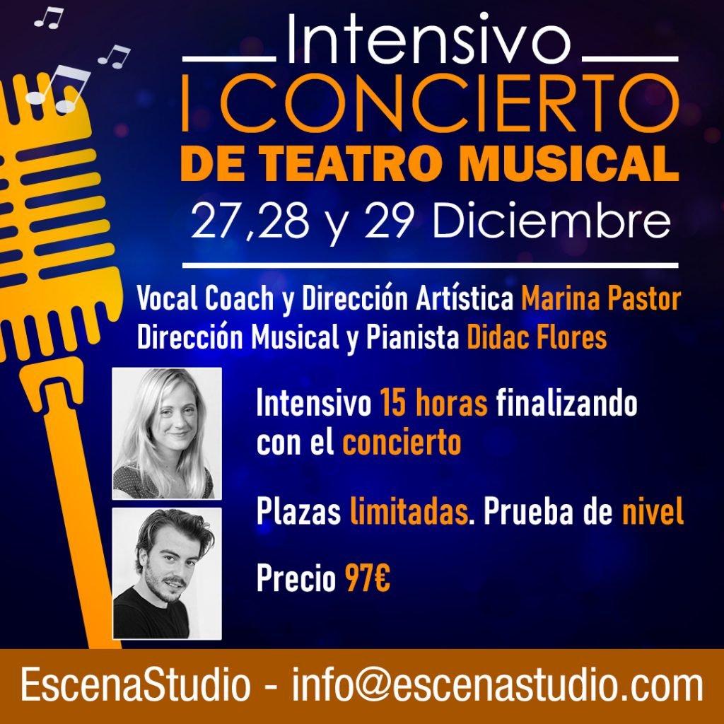 concierto de teatro musical