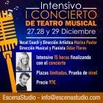 Intensivo de Navidad para concierto de Teatro Musical