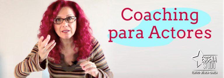 curso de coaching para actores