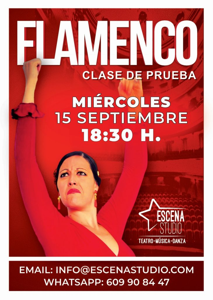 flamenco clase prueba